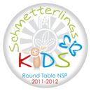 Round Table SchmetterlingsKIDS